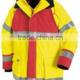 2015 Top Quality Anti-Static Jacket Workwear Customed Best Selling Reflective High Visibility Working Jacket
