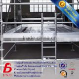 cheap galvanized scaffolding walk through scaffolding frames