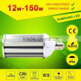 UL DLC TUC PSE CE best seller 100w led corn light E39 E 40 base waterproof led corn cob light