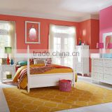 Watercolor Full Poster Bed with Clipped Corner Overlay Frames / americna colorful children bed AS-B47