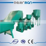 PET water/coke bottles crushing and recycling line