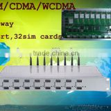 Nwe arrival!!!GSM/CDMA/WCDMA gateway 8 channels with 32 SIM gsm gateway/dual sim usb modem
