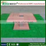 Table skins/WPC material tables for drinking tea chinese tradition/Eco-friendly wpc chairs/high quality wpc benches
