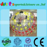 shinging pvc inflatable zorb ball