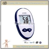 FDA approved blood glucose meter home and hospital use no code blood glucose meter Yasee