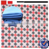 keqiao sperior grade quality fabric supplier wool like fabric / low price tr melton wool touch fabric with print for winter coat
