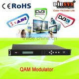 1*asi in/qam rf out cable digital tv modulator