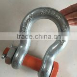 High Strenghth Bolt type Bow shackle U.S TYPE 2130