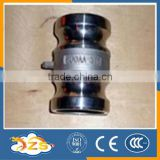 stainless steel quick couping with cylindrical heads type AA