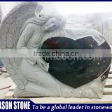 Cheapest granite cemetery angel sculpture