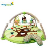 Baby jungle play gym mat wholesale baby play mats with music