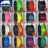 RepRap/UP/Mendel 27 colors Optional green 3d printer filament PLA/ABS 1.75mm/3mm 1kg plastic Rubber Consumables Material