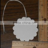 "WHITE BLANK 2"" CIRCLE HANG TAGS PRICE GIFT (M-HT136)"