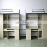 High quality metal bunk bed for kids bunk bed with desk design