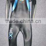 Top qaulity 3mm smooth skin neoprene(SCR) one piece unisex wetsuit triathlon suit