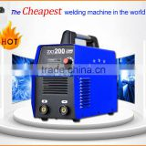 Portable MMA welding machine ZX7 ARC 200 inverter welder                                                                         Quality Choice