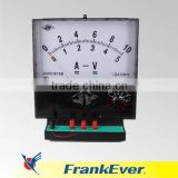 Demonstrating Current-Voltmeter/School Demonstration DC Analog Ammeter and Voltmeter/Demonstrating DC Ammeter