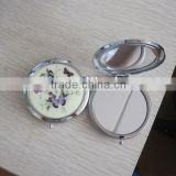 2013 new butterfly cosmetic compact mirror for promotional gift