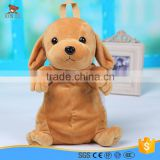 custom cute dog shape plush backpack for kids                                                                                                         Supplier's Choice
