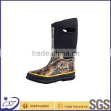 rubber rain boot neoprene camo shoes for kids NE-01                                                                                                         Supplier's Choice