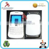 plastic moblile phone housing for Blackberry BB Curve 9360 housing for BB 9360 housing cover