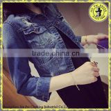 2015 Latest Young Girl Short Denim Jean Jacket Wholesale                                                                         Quality Choice