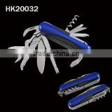 Multi function folding knife with fish scaler