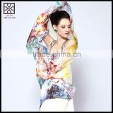 New Design Silk Printed Scarf