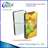 New product design Sublimation Custom Mobile phone holster protect Phone Cover for iphone 6 Plus