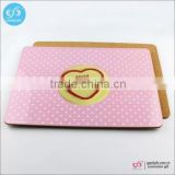Wholesale custom new products mdf cork table mats high quality wood placemat                                                                         Quality Choice