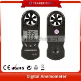 3-in-1 TL-300 New Digital Mini LCD Wind Speed Gauge Anemometer Meter & Temperature Thermometer