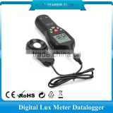 Hand held Lux meter for LED light with 200000 points memory Made in China