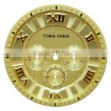 3d pattern embossed custom made Watch dial