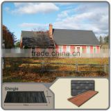 stone coated steel roof tile better than roofing slate/sand stone coated metal shingle roof with stone coated tin roofing sheets