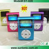 hotselling FM clip mp3 player with LCD screen and FM functions                                                                         Quality Choice                                                     Most Popular