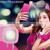 Flash Light For IOS for Android Mini Portable 3.5mm Jack Smart Selfie 16 LED Camera Flash Light