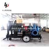 big outflow horizontal end suction pump for farm irrigation