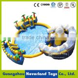 NEVERLAND TOYS Inflatable Water Slide with Swimming Pool Inflatable Water Amusement Park Commercial Water Park Hot Sale