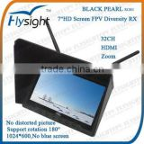 B158 FlySight Black Pearl 7inch HDMI FPV Diversity Monitor For Flight Simulator DJI Phantom