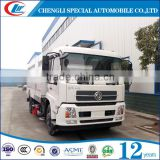 New Cheaper Price 7000Liters Street Cleaning Trucks Machine 4cbm 5cbm 6cbm 7cbm Road Sweeper Trucks Hot Sales