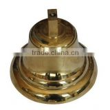 Hot exported cheap Marine brass fog bell for sale