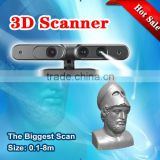 Direct manufacturer MINGDA high precision and scanning speed handheld portable 3d scanner face for 3d printer