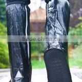 knee boot pvc rain shoe cover