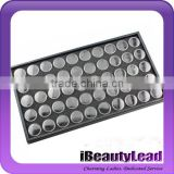 Plastic nail jewelry box empty nail container nail storage box with 50 pots