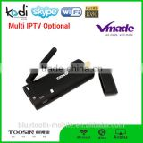 cheap android tv stick Amlogic S805 1G+8G Quad-core H.265 smart mini internet tv receiver