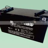 Rechargeable Deep-Cycle UPS AGM Gel Power Lead-Acid Battery 12V 150ah Gel Electric solar street light