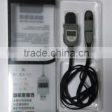 High Quality LED Digital Indicator Micro USB Data Syn Charge Cable Load/No Load A/V Date Display