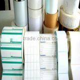 china adhesive sticker/label/tape blank or printed