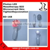 Photon LED Mesotherapy BIO Microcurrent Skin Tighten Rejuvenation /Time Master Beauty Equipment Injects Collagen / BD-168