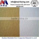 High Quality Flame Retardant Aluminum Foil Kraft facing Scrim Laminate for Heat Insulation